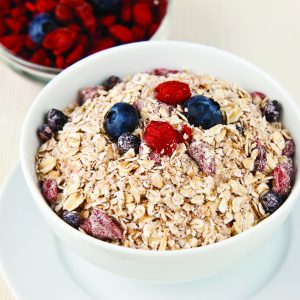 Natural Goji, Blueberry, & Golden Flax Instant Oatmeal -0