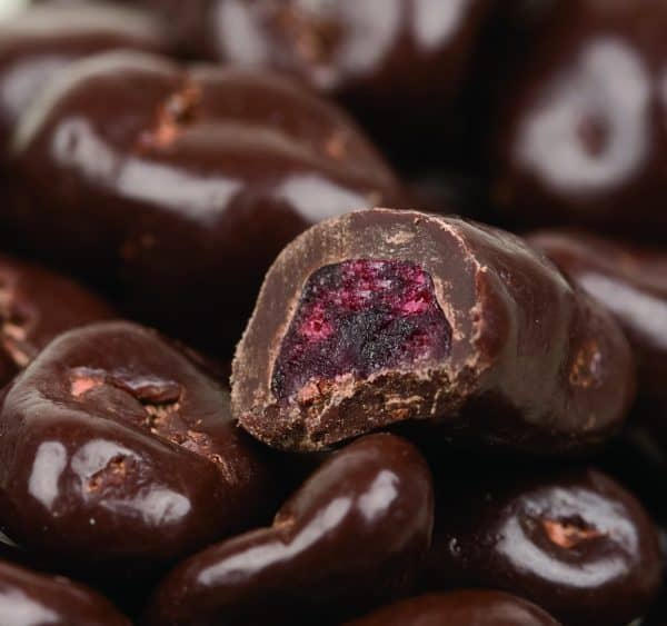 Dark Chocolate Covered Cranberries -0