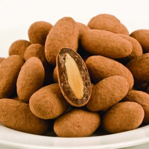 Cocoa Dusted Almonds -0