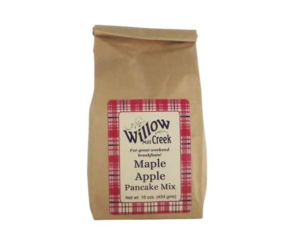 Willow Creek Mill Maple Apple Pancake Mix 16 oz.-0