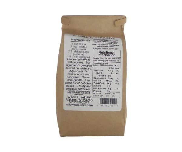 Willow Creek Mill Chocolate Chip Pancake Mix 16 oz.-1033
