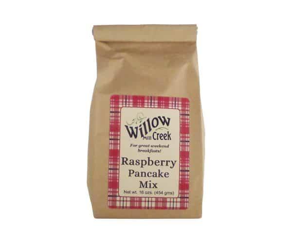 Willow Creek Mill Raspberry Pancake Mix 16 oz.-0