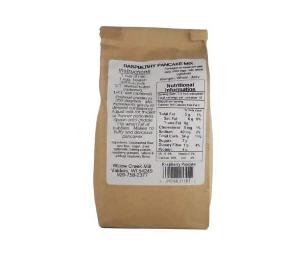 Willow Creek Mill Raspberry Pancake Mix 16 oz.-1035