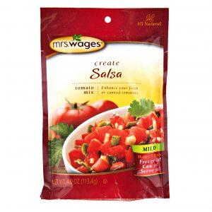 Mrs. Wages Mild Salsa Mix - 4 oz. -0