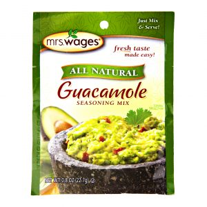 Mrs. Wages Guacamole Dip Mix - .8 oz. -0