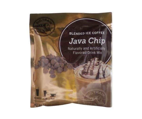 Java Chip Blended Ice Coffee - 2.8 oz. -0