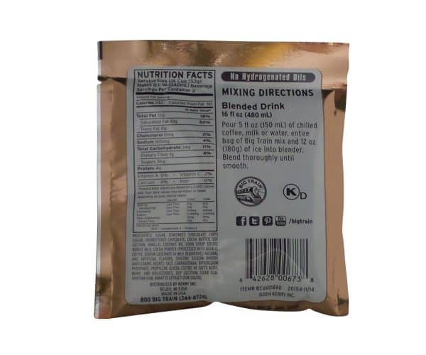Java Chip Blended Ice Coffee - 2.8 oz. -1677