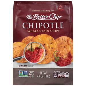 Whole Grain Tortilla Chips - Chipotle - 6.4 oz.-0