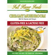 Full Flavor Gluten Free Creamy Mushroom Soup/Sauce - 2.65 oz. -0