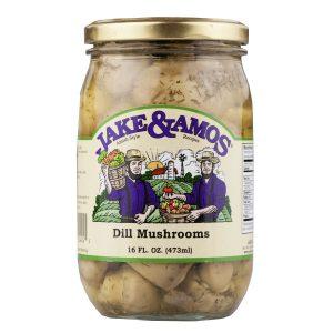 Jake & Amos Dill Mushrooms - 16 oz. -0