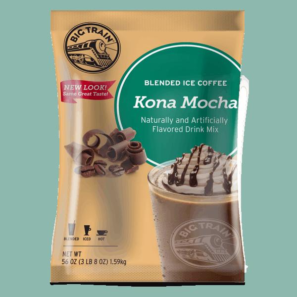 Kona Mocha Blended Ice Coffee - 3.5 lbs. -0