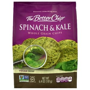 Whole Grain Tortilla Chips - Spinach & Kale- 6.4 oz.-0