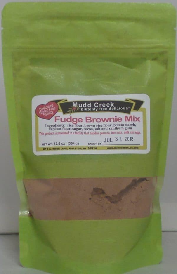 Mudd Creek Fudge Brownie Mix - 12.5 oz.-0