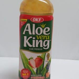Strawberry Aloe Water 16.9 oz. -0