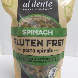 Gluten Free Spinach Pasta Spirals - 8 oz. -0