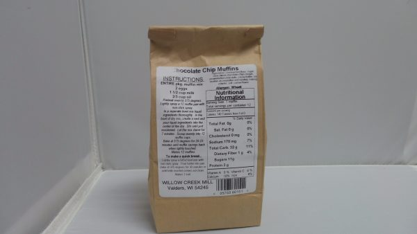 Willow Creek Mill Chocolate Chip Muffin Mix 16 oz. -2272