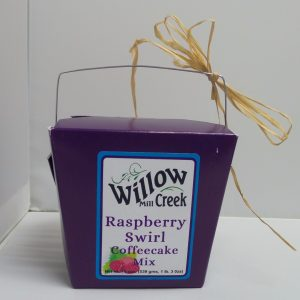Willow Creek Mill Raspberry Swirl Coffeecake Mix 19 oz. -0