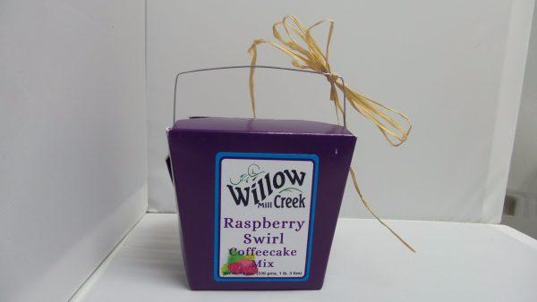 Willow Creek Mill Raspberry Swirl Coffeecake Mix 19 oz. -0