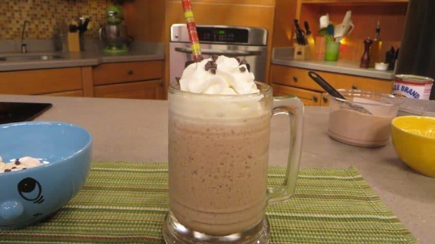 Hot Cocoa No-Churn Ice Cream